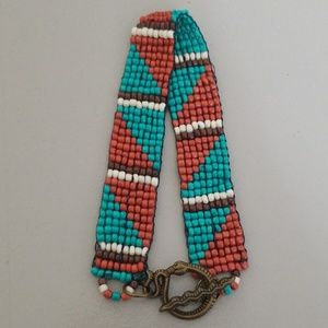 Jewelry - Southwest inspired loom beaded bracelet